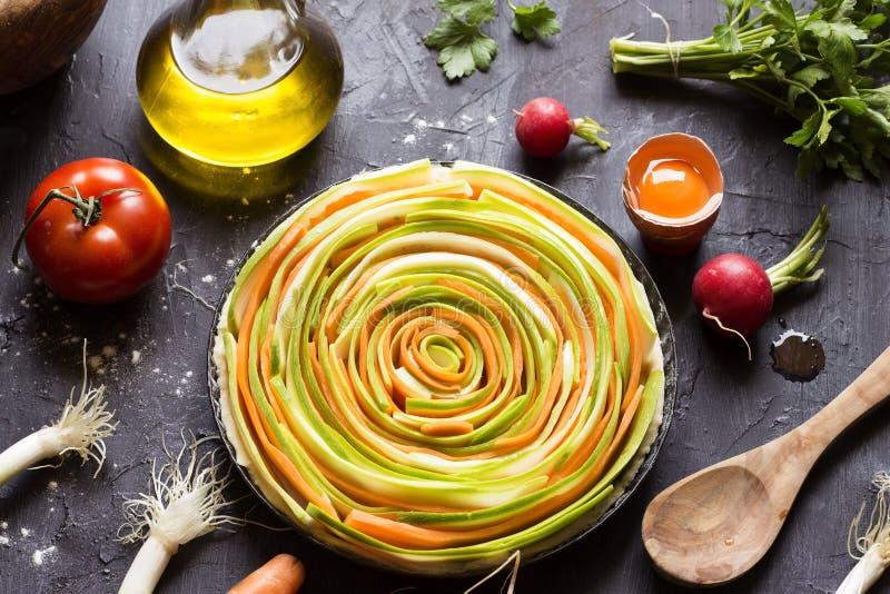 Empanada vegetal foto de archivo