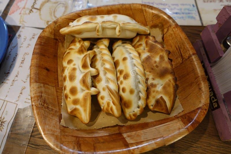 Empanadas in Buesnos Aires, Argentina stock photography