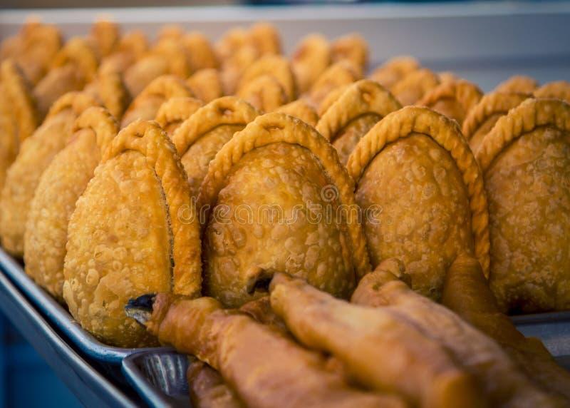 Empanadas recientemente cocidos México imagen de archivo