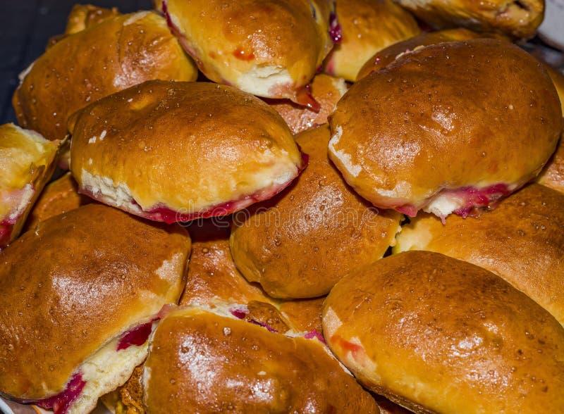 Empanadas rusas de la empanada fotos de archivo
