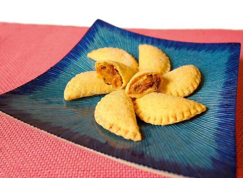 Empanadas van de kip royalty-vrije stock afbeelding