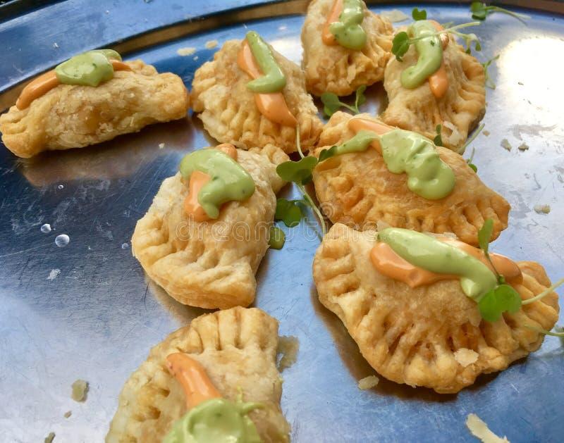 Empanadas van de kip royalty-vrije stock foto