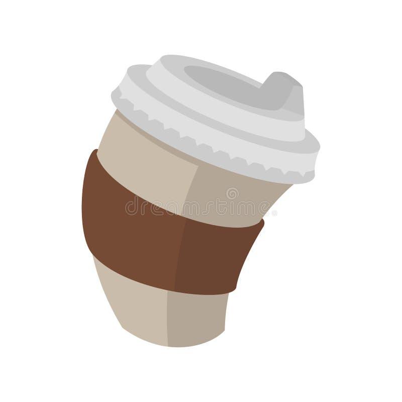 Empapele la taza de café libre illustration