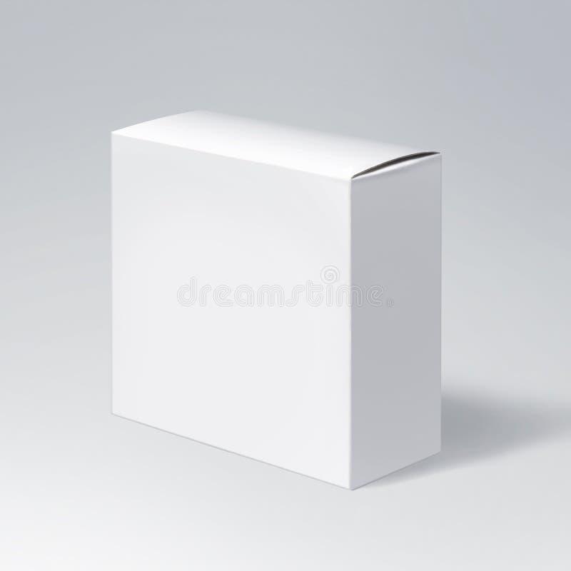 Boîte de empaquetage de papier illustration libre de droits