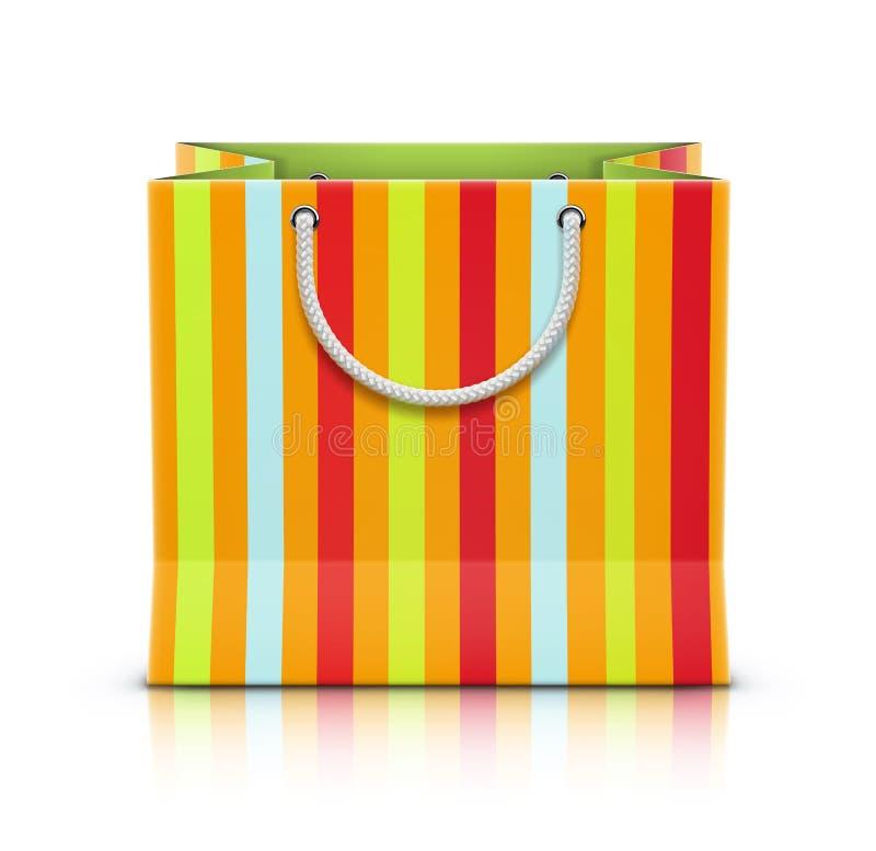 Empaquetez le sac à provisions illustration libre de droits