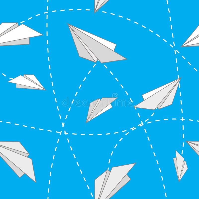 Empaquetez les avions illustration libre de droits