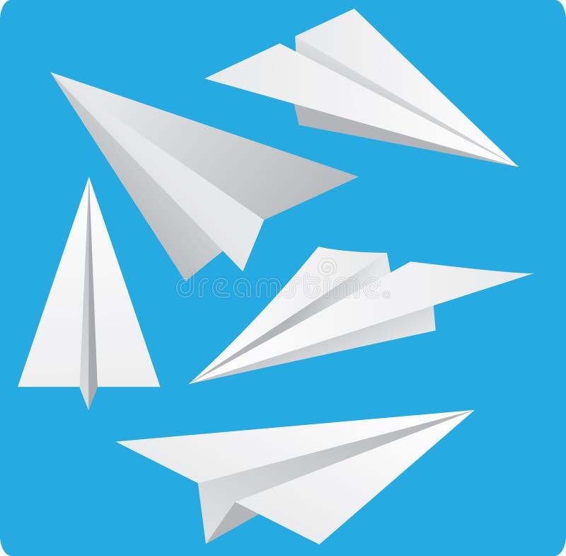 Empaquetez les avions illustration stock