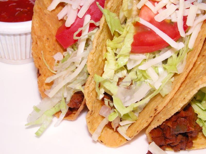 Emparedado del mexicano del Tacos fotografía de archivo