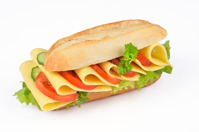 Emparedado del queso foto de archivo