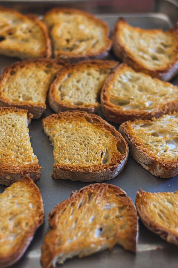 Emparedado tostado del pan imagen de archivo libre de regalías