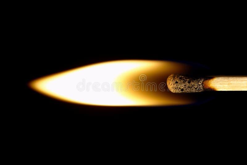 Emparejamiento ardiente en un backg negro fotos de archivo libres de regalías