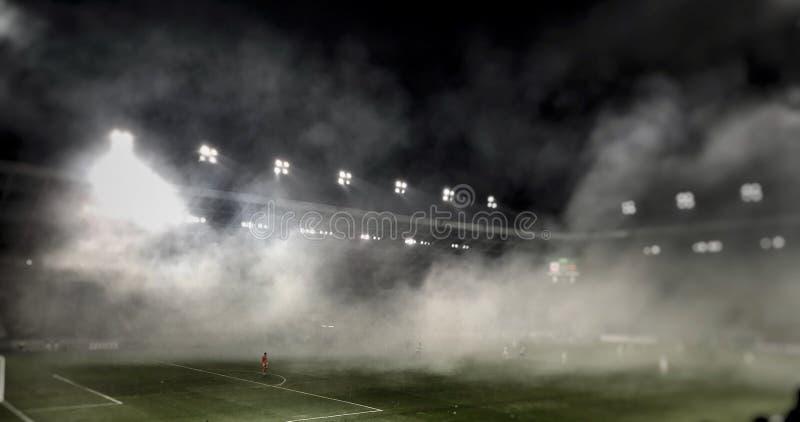 Emparejamiento de fútbol fotografía de archivo