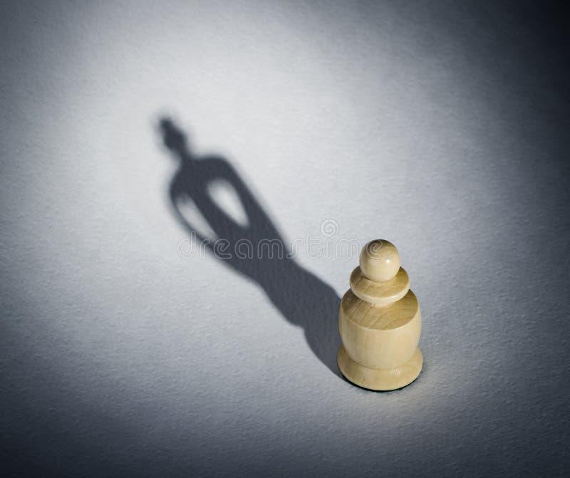 Empeño del ajedrez imágenes de archivo libres de regalías