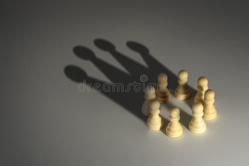 Empeño del ajedrez imagen de archivo libre de regalías