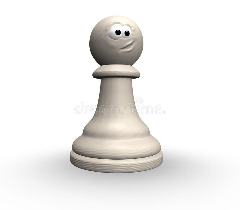 Empeño divertido del ajedrez libre illustration
