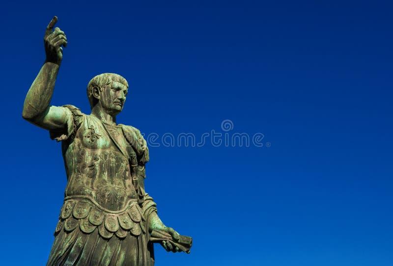 Empereur Caesar Augustus Trajan le conquérant images libres de droits