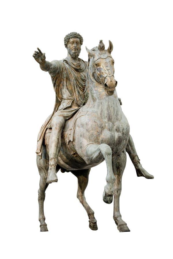 Empereur de Constantine d'isolement images stock