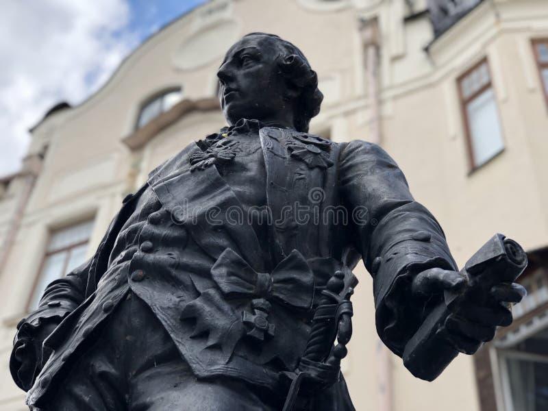Empereur Joseph de statue II images stock
