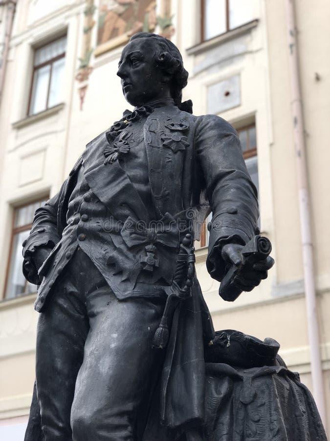 Empereur Joseph de statue II image stock