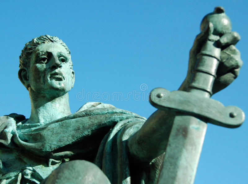 Emperor Constantine 3 royalty free stock photo