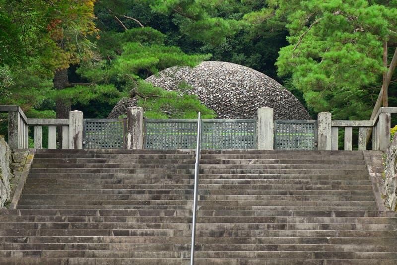 Emperor Taisho's tomb, Hachioji, Japan. Emperor Taisho's tomb in Hachioji, Japan royalty free stock photos