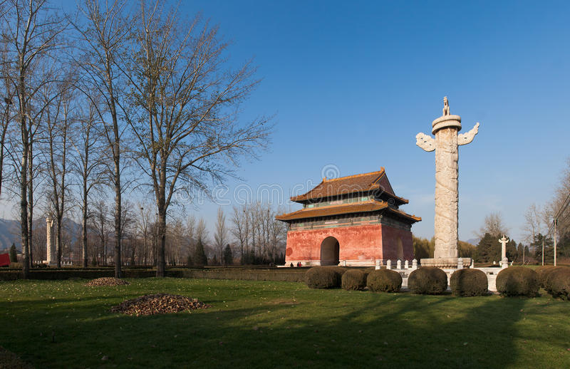 Download Emperor Tomb Of Ming Dynasty Royalty Free Stock Images - Image: 24652539
