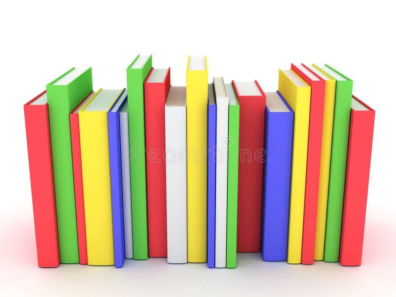 Emperramentos e literatura de livros ilustração stock