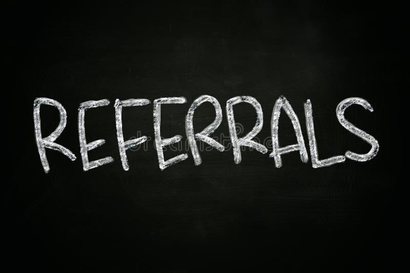 Empfehlungs-Konzept lizenzfreies stockbild
