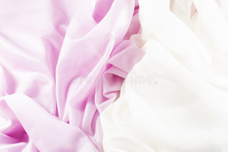 Empfindliche rosa Seide lizenzfreie stockfotografie