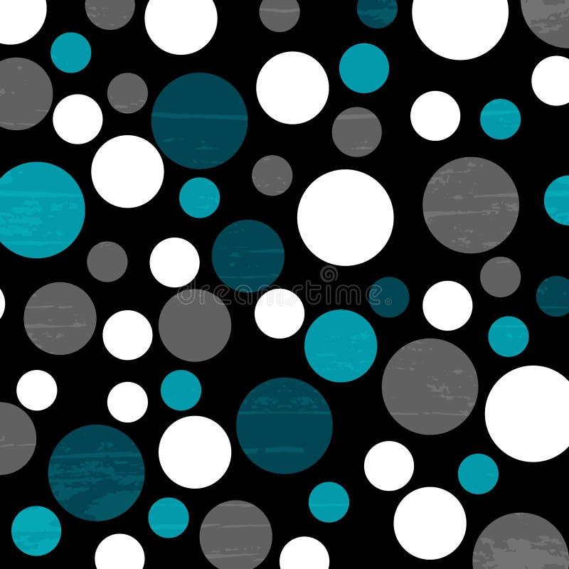 Empfindliche Vektorillustration des abstrakten geometrischen Musters stock abbildung