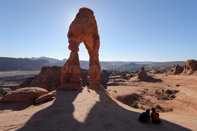 Empfindliches Arche im Nationalpark lizenzfreie stockfotografie