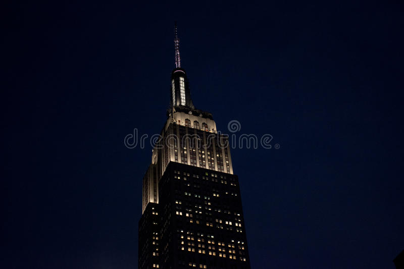Empir State Building, New York royalty free stock image