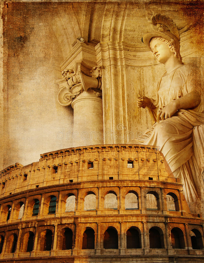 Empire romain photos stock