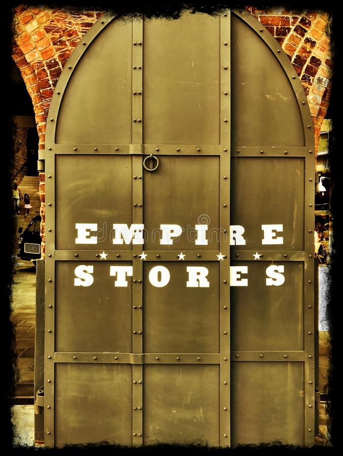 Empire Shopping New York royalty free stock photos