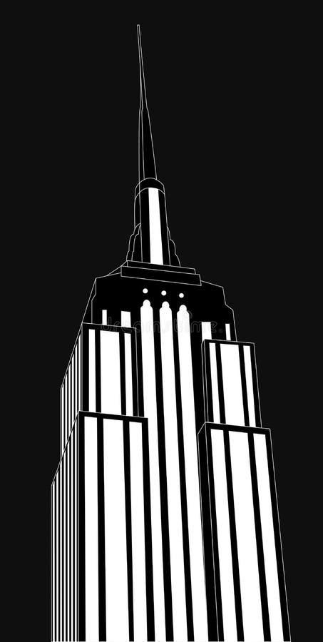 Empire staet building vector illustration