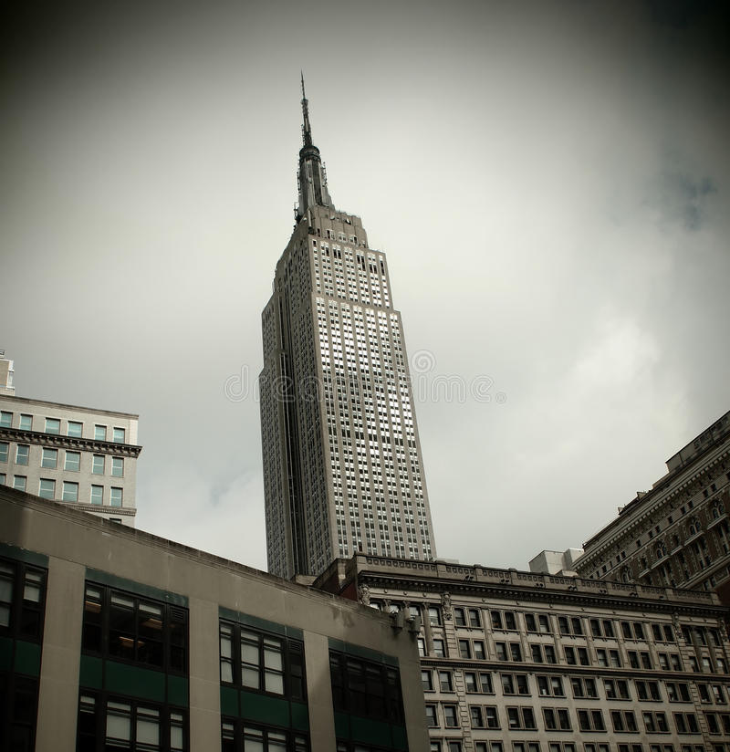 Empire State imagenes de archivo