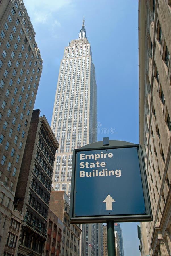 Empire State Building à New York City photos stock