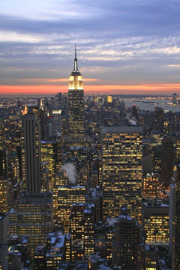 Empire State Building images libres de droits