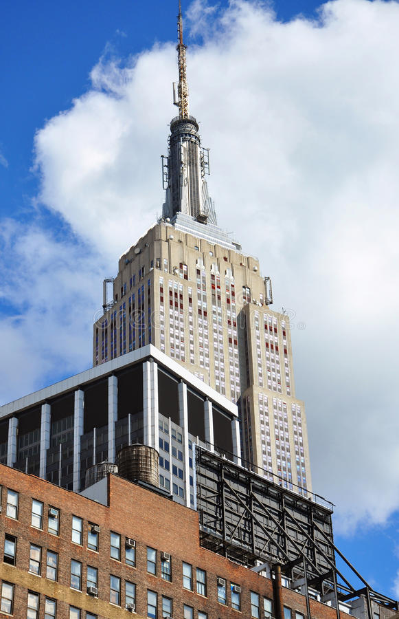 Download Empire State Building editorial stock photo. Image of state - 21484488