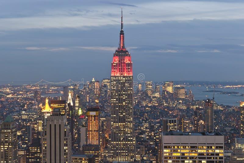 Empire State Building zdjęcie royalty free