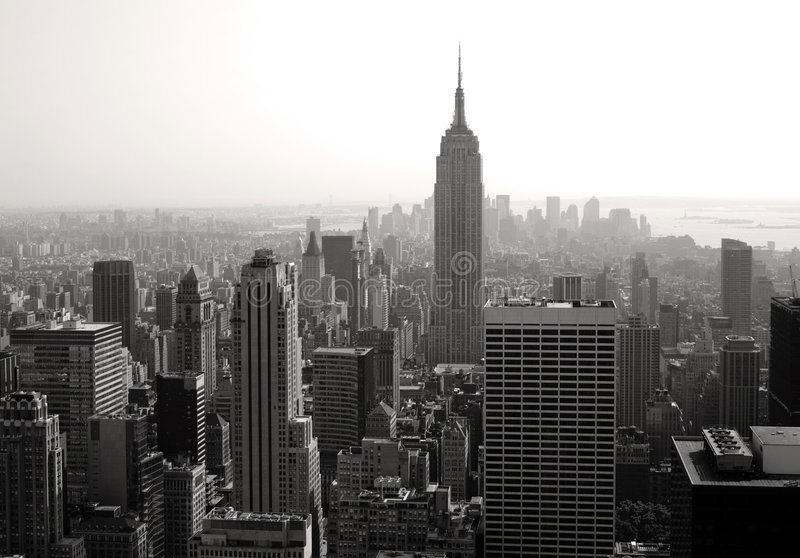Download Empire state building stock photo. Image of america, skyline - 2824586