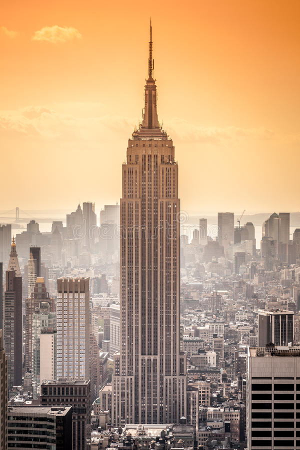 Free Empire State Building Royalty Free Stock Photography - 39244297
