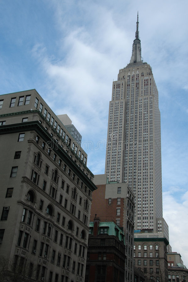 Download Empire State Building imagem editorial. Imagem de skyscraper - 529260