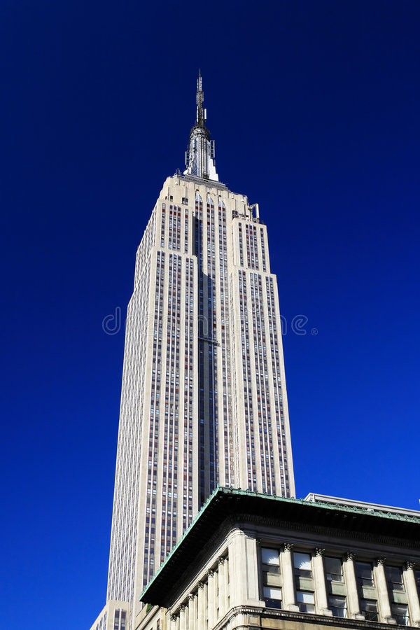 The Empire State Building stock photos