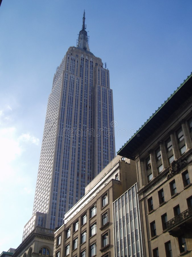 Empire State Building fotos de stock