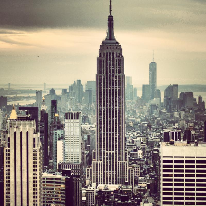Empire State Building lizenzfreie stockfotos