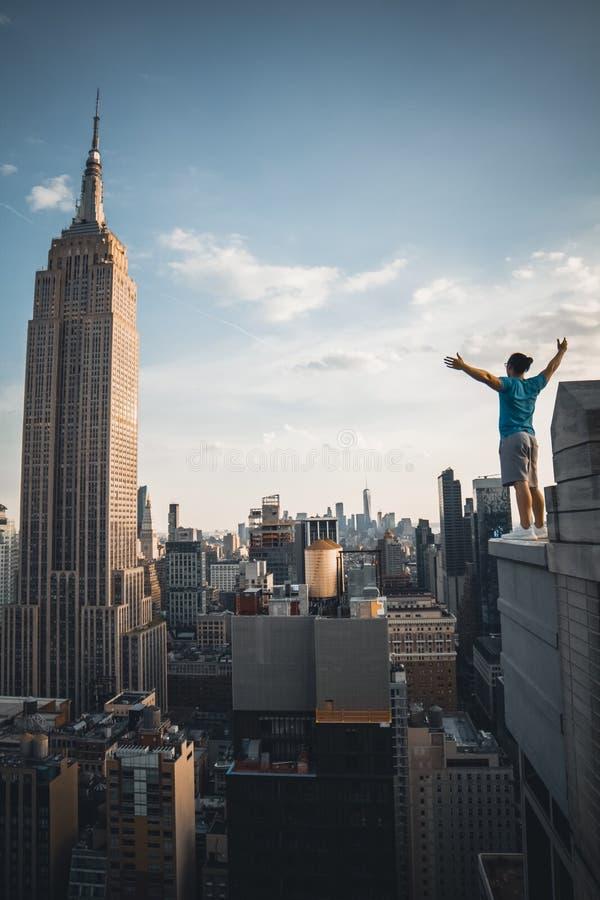 Empire State Building photos libres de droits