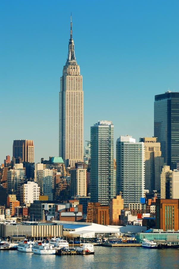 Empire State Building de New York City images stock