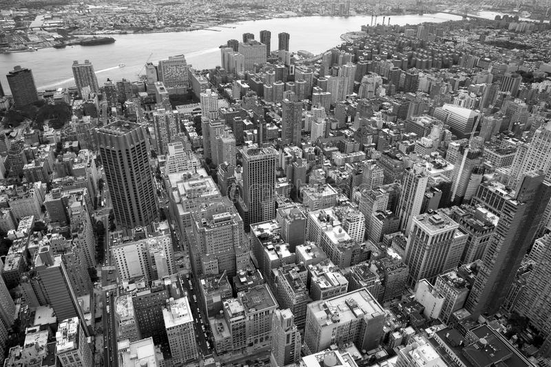 Empire State Building de paysage, New York images stock