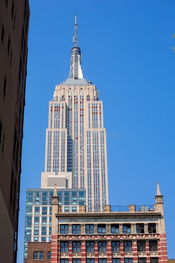 Empire State Building in de Stad van Manhattan New York royalty-vrije stock fotografie